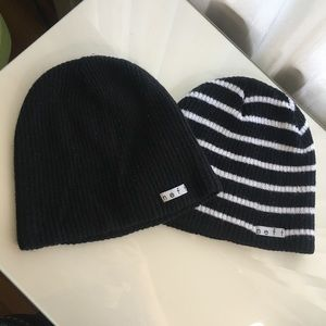 two neff beanies